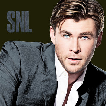 Chris Hemsworth hosts Saturday Night Live with musical guest Chance the Rapper on December 12, 2015.