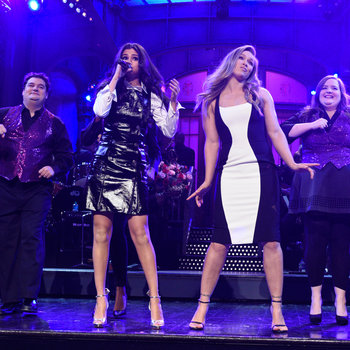 Ronda Rousey hosts Saturday Night Live with musical guest Selena Gomez on January 23, 2016.