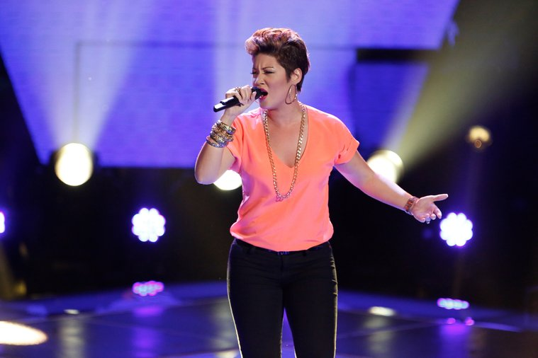 """Tessanne was a force to be reckoned with right from the start, when her take on Pink's """"Try"""" had all four coaches turning their chairs."""