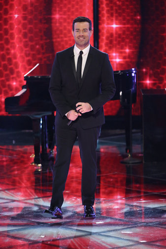 """THE VOICE -- """"Live Finale"""" Episode 519B -- Pictured: Carson Daly -- (Photo by: Tyler Golden/NBC)"""