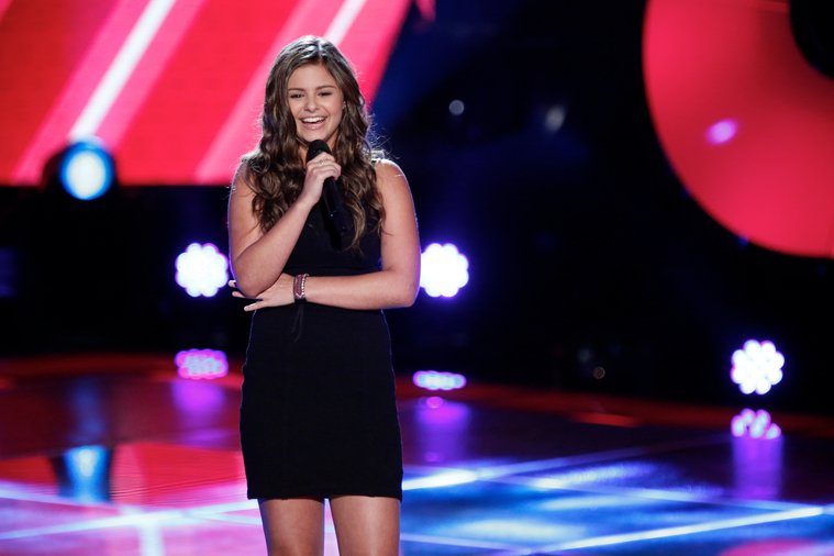Jacquie was so shy when she first began singing she would only perform for her family from inside a closet with the door shut. Now she would be performing for millions of people every week on The Voice.