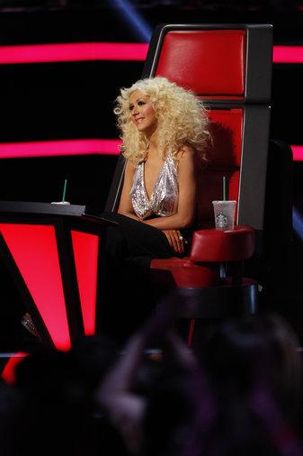 "THE VOICE -- ""Live Finale"" Episode 519B -- Pictured: Christina Aguilera -- (Photo by: Trae Patton/NBC)"