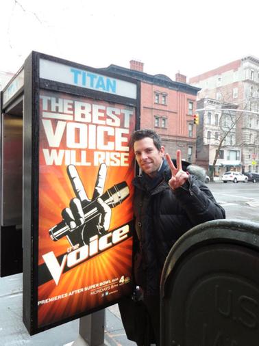 Chris Mann + NYC Phone Booths!