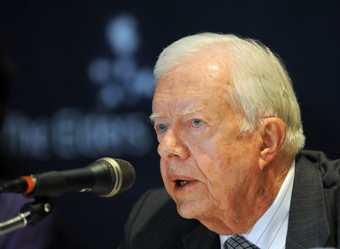 Former President of the US Jimmy Carter