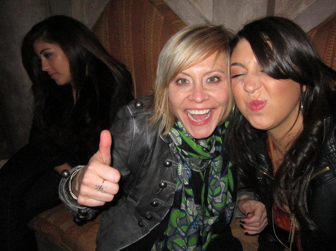 Gwen and I at Blake's house!