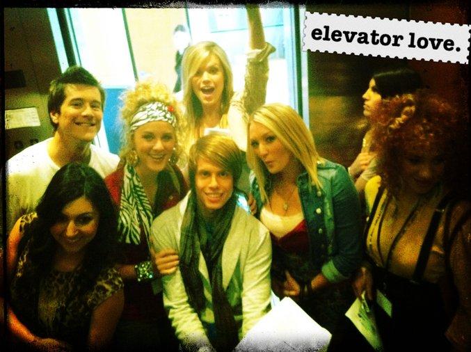 elevator love.