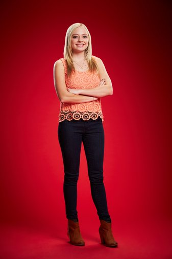 THE VOICE -- Season: 6 -- Pictured: Madilyn Paige -- (Photo by: Paul Drinkwater/NBC)