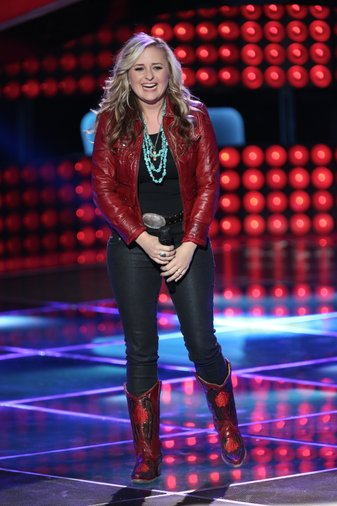 "THE VOICE -- ""Blind Auditions"" Episode 602 -- Pictured: Cary Laine -- (Photo by: Tyler Golden/NBC)"
