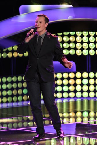"THE VOICE -- ""Blind Auditions"" Episode 602 -- Pictured: Noah Lis -- (Photo by: Tyler Golden/NBC)"