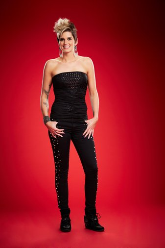 THE VOICE -- Season: 6 -- Pictured: Megan Ruger -- (Photo by: Paul Drinkwater/NBC)