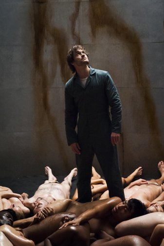 "HANNIBAL -- ""Sakizuki"" Episode 202 -- Pictured: Hugh Dancy as Will Graham -- (Photo by: Brooke Palmer/NBC)"