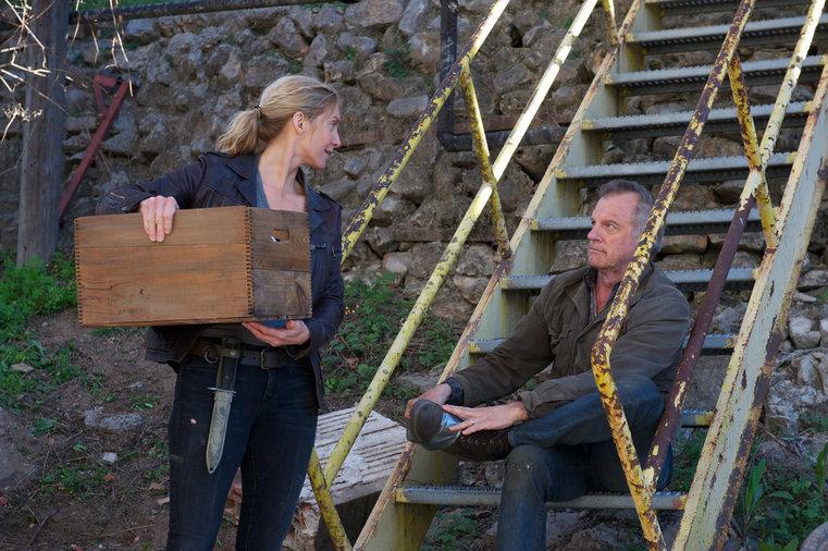 Pictured: (l-r) Elizabeth Mitchel as Rachel Matheson, Stephen Collins as Dr. Gene Porter -- (Photo by: Felicia Graham/NBC/NBCU Photo Bank)