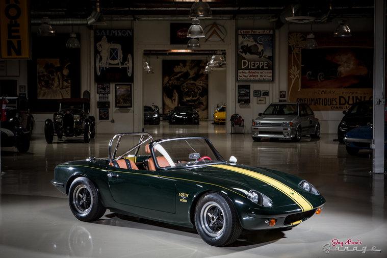 1966 lotus elan jay leno 39 s garage nbc for Garage lotus