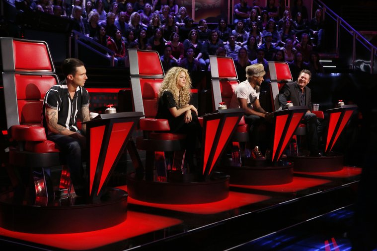 """THE VOICE -- """"Battles Round 2"""" -- Pictured: (l"""
