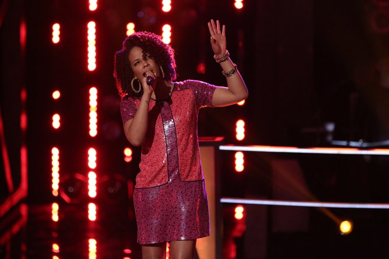 """THE VOICE -- """"Battle Round 2"""" -- Pictured: (l-r)  -- (Photo by: Tyler Golden/NBC)"""
