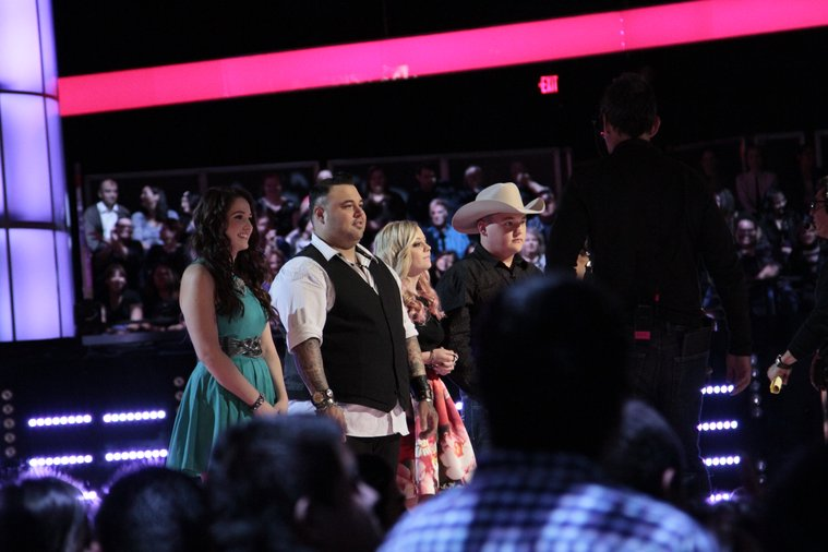 "THE VOICE -- ""Playoffs BTS"" -- Pictured: (l-r)  -- (Photo by: Sara Terry/NBC)"