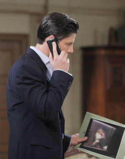 All hell breaks loose at the DiMera mansion when the photograph of EJ and Abigail is discovered!