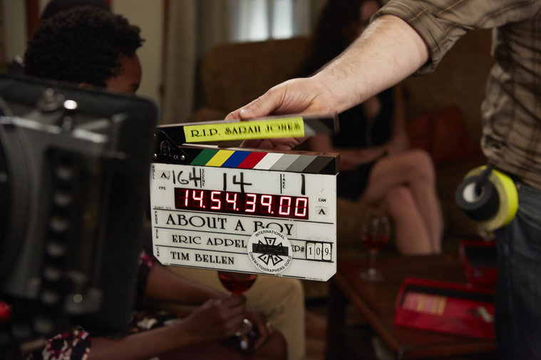 """ABOUT A BOY -- """"About a Kiss"""" Behind the Scenes"""