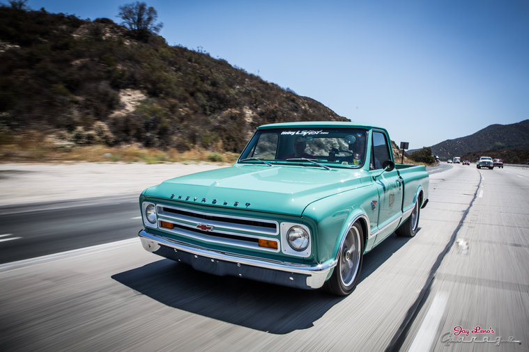 1967 chevy c 10 jay leno 39 s garage nbc for Garage chevrolet luxembourg