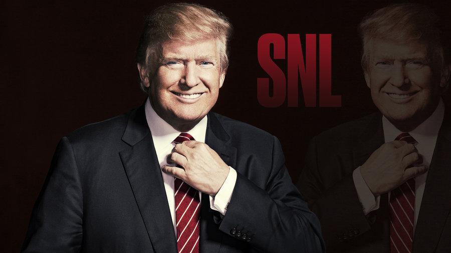 Donald Trump and Sia Bumper Photos