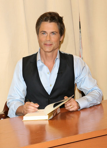 """Rob Lowe Signs Copies Of """"Stories I Only Tell My Friends"""""""