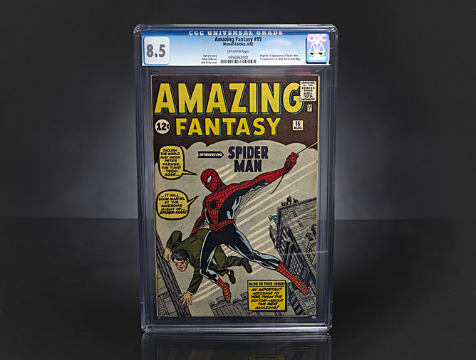 Amazing Fantasy #15 Comic Book (circa 1962)