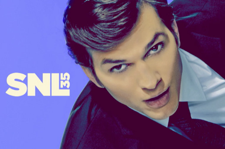 Ashton Kutcher bumper photo
