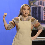 "Kate McKinnon in ""Nancy Grace"" on Saturday Night Live on January 18, 2014."