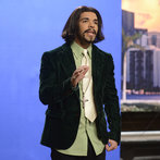 "Drake as Katt Williams in ""Nancy Grace"" on Saturday Night Live on January 18, 2014."