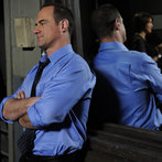 """LAW & ORDER: SPECIAL VICTIMS UNIT-- """"Authority"""" Episode 90017 -- Airdate 04/29/2008 -- Pictured: Chris Meloni as Det. Elliot Stabler -- NBC Photo: Virginia Sherwood"""