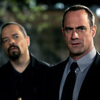 """LAW & ORDER: SPECIAL VICTIMS UNIT -- """"Cold"""" Episode 919 -- Pictured: (l-r) Ice-T as Det. Odafin """"Fin"""" Tutuola, Christopher Meloni as Det. Elliot Stabler -- NBC Photo: Will Hart"""