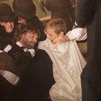 Pictured: Thomas Kretschmann as Abraham van Helsing, Botond Lezsek as Abraham von Helsing's son -- (Photo by: Jonathon Hession/NBC)