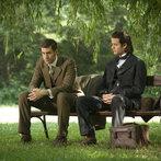 Pictured: (l-r) Oliver Jackson-Cohen as Jonathan Harker, Miklos Banyai as Szabo -- (Photo by: David Lukacs/NBC)