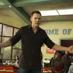 """COMMUNITY -- """"Introduction to Teaching"""" Episode 502 -- Pictured: Joel McHale as Jeff WInger"""