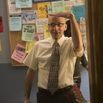 """Community -- """"Introduction to Teaching"""" -- Pictured: Jim Rash as Dean Pelton"""