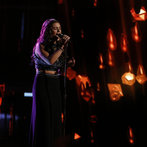 "THE VOICE -- ""Live Show"" Episode 517A -- Pictured: Jacquie Lee -- (Photo by: Trae Patton/NBC)"