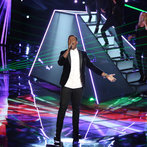 "THE VOICE -- ""Live Show"" Episode 517A -- Pictured: Matthew Schuler -- (Photo by: Tyler Golden/NBC)"