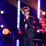 "THE VOICE -- ""Live Show"" Episode 517A -- Pictured: Will Champlin -- (Photo by: Tyler Golden/NBC)"