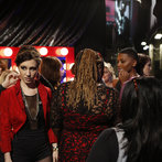 "THE VOICE -- ""Live Finale BTS"" Episode 519B -- Pictured: (l-r) -- (Photo by: Ben Cohen/NBC)"