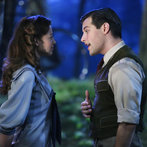 Pictured: (l-r) Ariane Rinehart as Liesl, Michael Campayno as Rolf Gruber -- (Photo by: Will Hart/NBC)