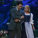 Pictured: (l-r) Stephen Moyer as Captain Von Trapp, Carrie Underwood as Maria -- (Photo by: Will Hart/NBC)