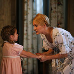 Pictured: (l-r) Peyton Ella as Gretl, Carrie Underwood as Maria -- (Photo by: Will Hart/NBC/NBCU Photo Bank)