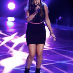 """16-year-old Jacquie grabbed the attention of Blake and Christina in the blinds with her sultry take on Amy Winehouse's """"Back to Black."""""""