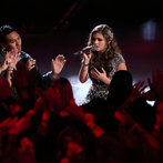 """Jacquie rolled through the quarterfinals with powerhouse takes on Janis Joplin's """"Cry Baby"""" and her coach Christina's own song, """"The Voice Within."""""""