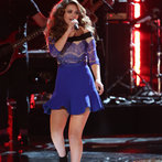 """THE VOICE -- """"Live Finale"""" Episode 519B -- Pictured: Jacquie Lee -- (Photo by: Tyler Golden/NBC)"""