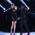 "THE VOICE -- ""Live Finale"" Episode 519B -- Pictured: (l-r) Celine Dion, Ne-Yo -- (Photo by: Tyler Golden/NBC)"