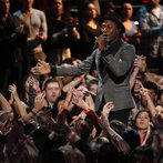"""THE VOICE -- """"Live Finale"""" Episode 519B -- Pictured: Aloe Blacc -- (Photo by: Tyler Golden/NBC)"""