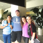 A few of my Team Blake teammates (: