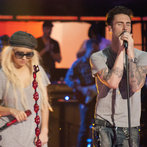 Adam and Christina doing what they do best!