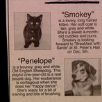 And a couple months later, there's Smokey and Penelope! Look familiar?